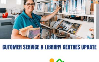 Change to Saturday Opening Hours – Customer Service & Library Centres