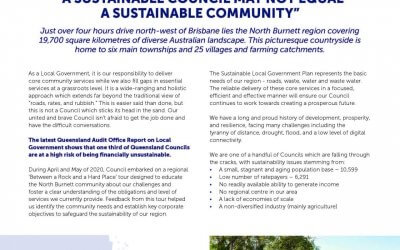 Council's Sustainable Local Government Plan