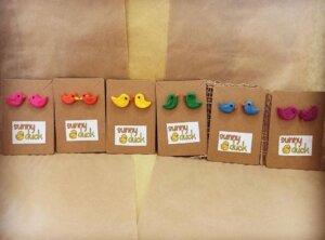 Sunny Duck Earrings