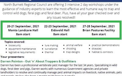 Advanced Pest Management Workshops – Wild Dog Feral Pig & Feral Deer