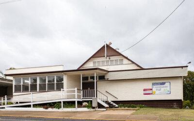 Eidsvold Community Hall Upgrades
