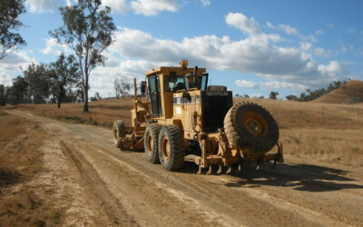 Gayndah – Mt Perry Road upcoming grading formation works